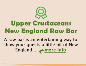 Upper Crustaceans New England Raw Bar